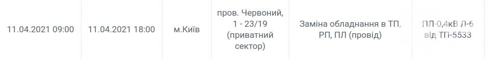 Навестите друзей: где в Киеве не будет света сегодня, 11 апреля. График , фото-6