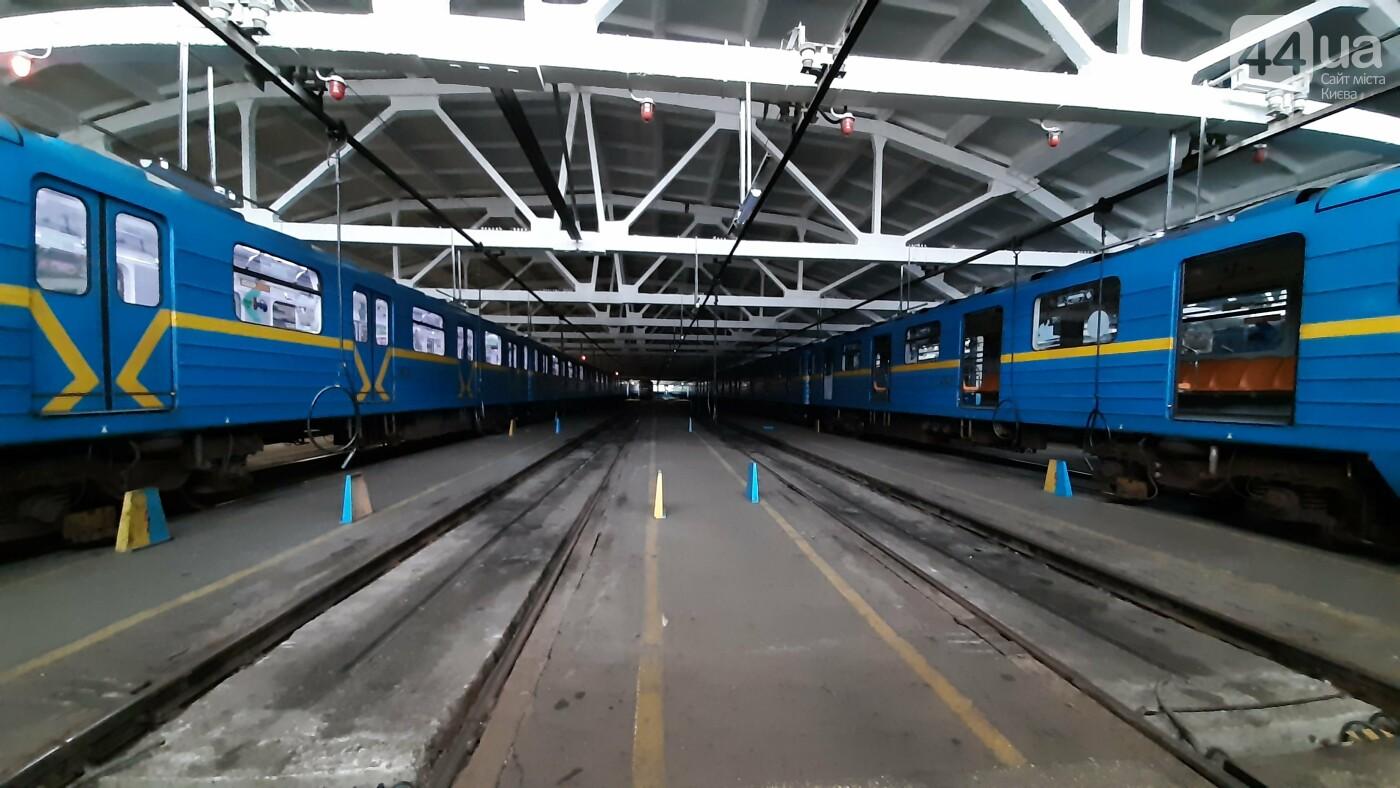 Поезда, которые эксплуатируются в Киевском метро сейчас, Фото 44.ua