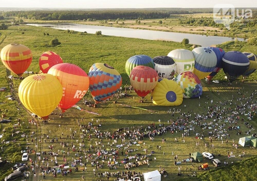 На выходных под Киевом состоялся фестиваль воздушных шаров «Монгольфьерия. Мама, я дома», фото-4