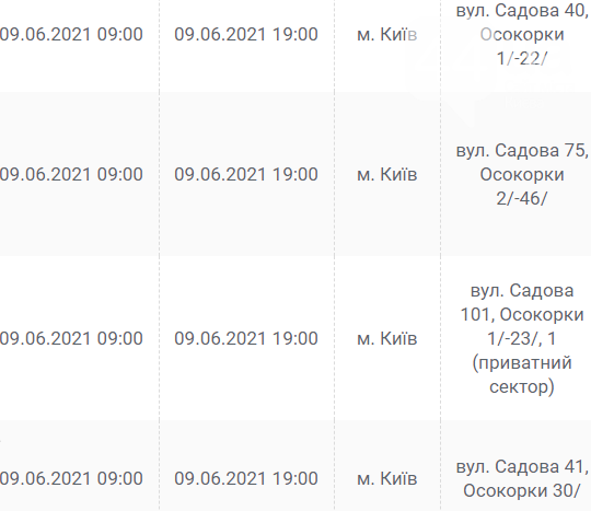 На Оболони, Осокорках и в Дарницком районе: на каких улицах в Киеве отключат свет 9 июня, фото-35