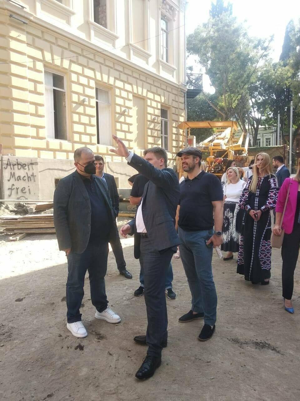 Плановая поездка делегации в Тбилиси, Источник: Facebook секретаря КГГА