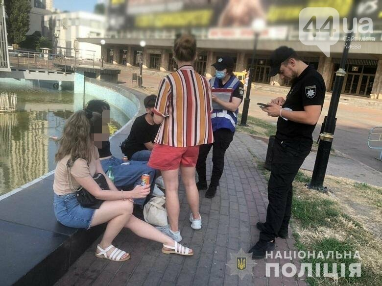 Профилактический рейд ювенальных инспекторов, Фото: сайт Нацполиции