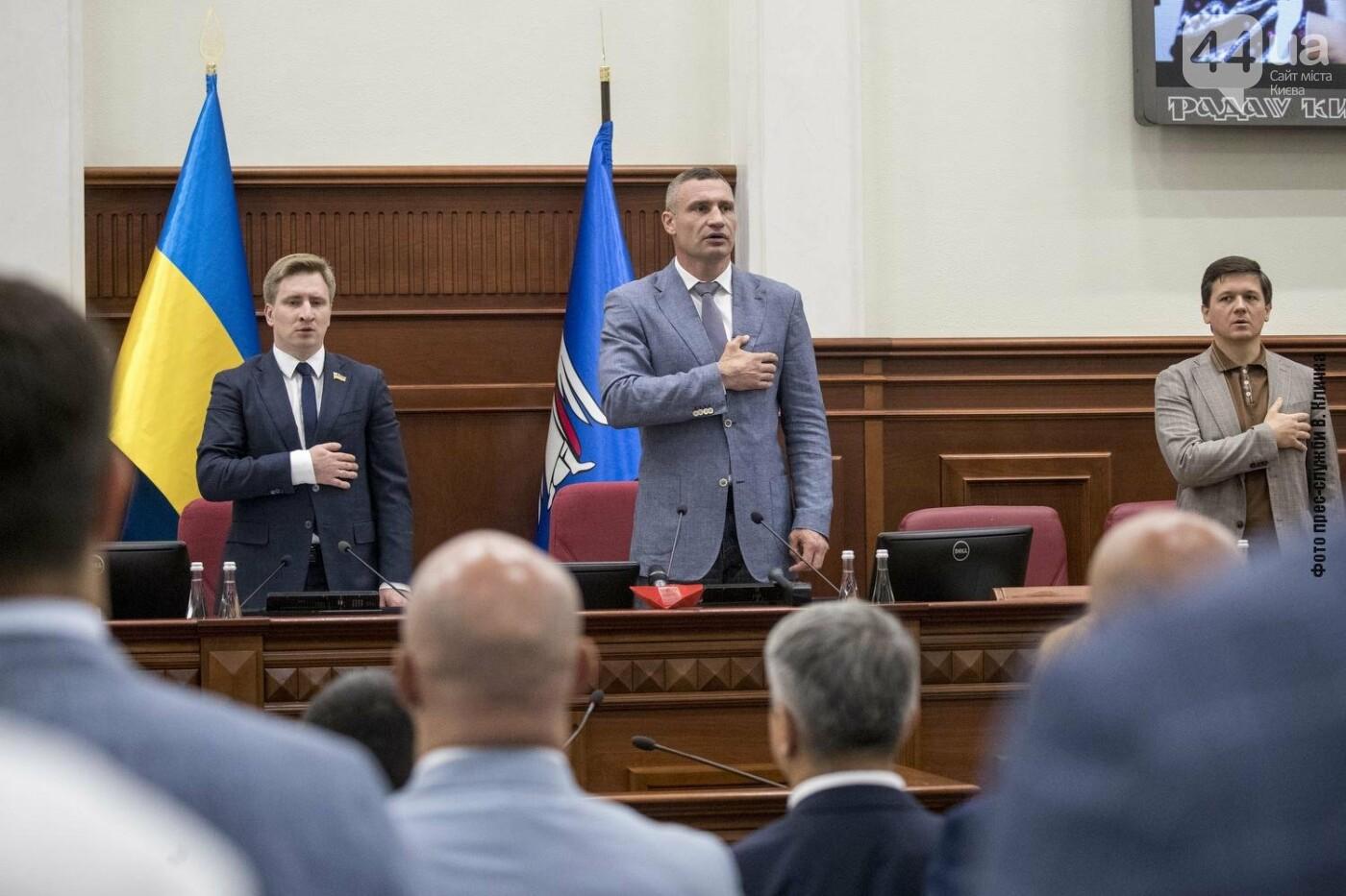 Плановое заседание Киевсовета, Источник: сайт КГГА