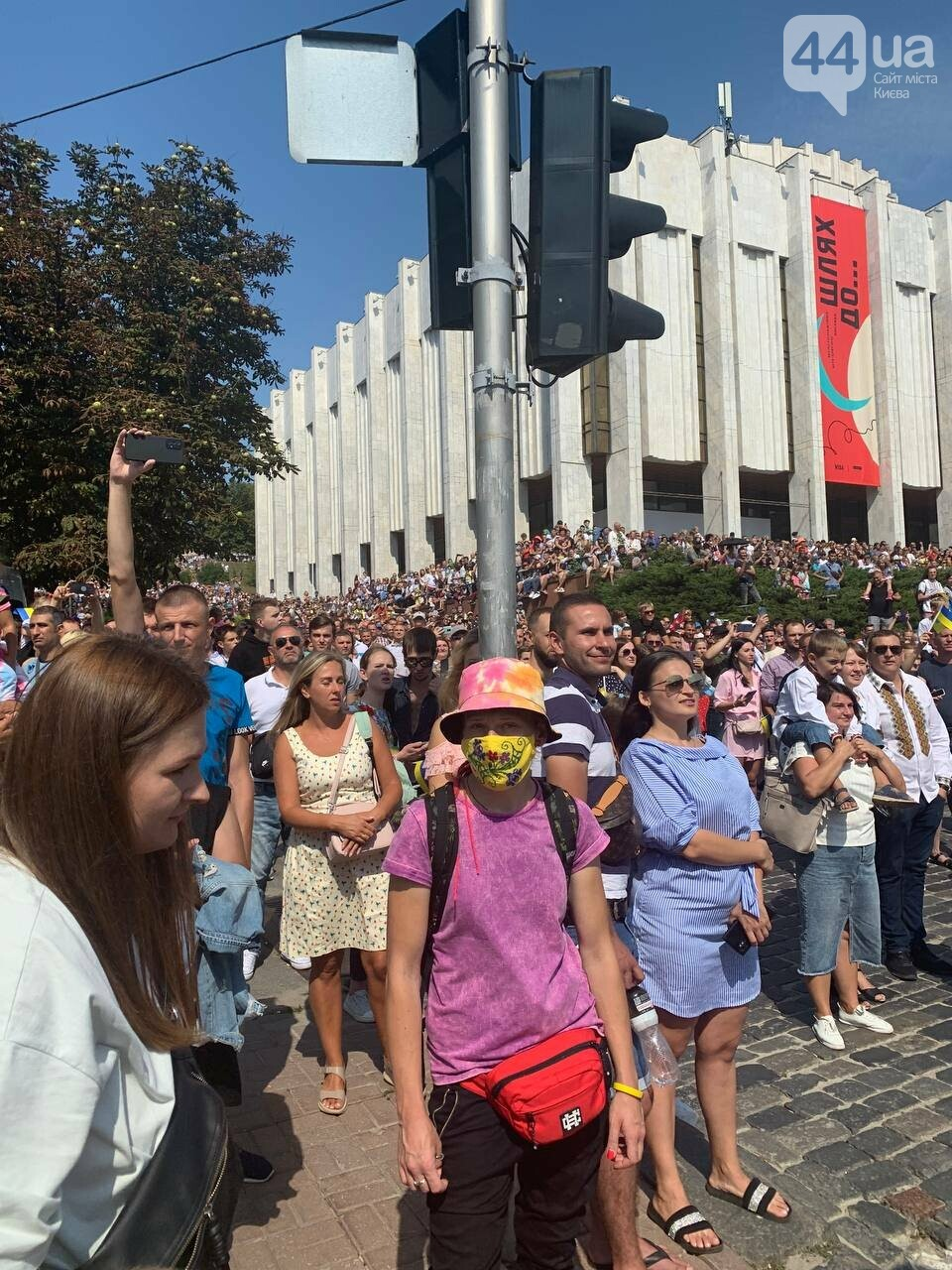 Парад на Крещатике 24.08.2021