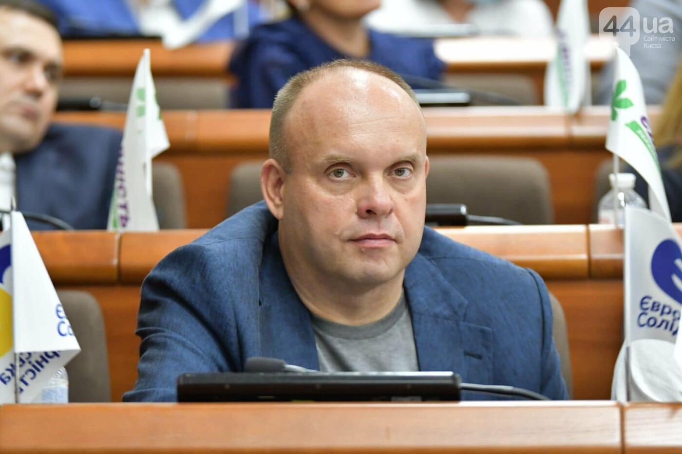Заместитель председателя комиссии по вопросам ЖКХ и ТЭК Юрий Тихонович, Источник: Facebook-страница ПП «Европейская солидарность