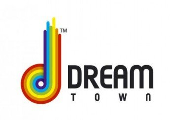 Логотип -  Dream Town (Дрим Таун), торгово-развлекательный центр