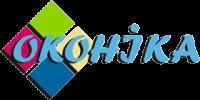 Логотип - Оконика, металлопластиковые окна и двери