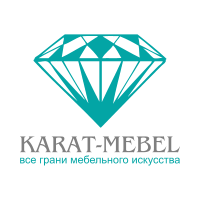Логотип - КАРАТ-МЕБЕЛЬ, производство мебели для офиса и дома