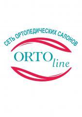 Логотип - Орто-Лайн, сеть ортопедических салонов