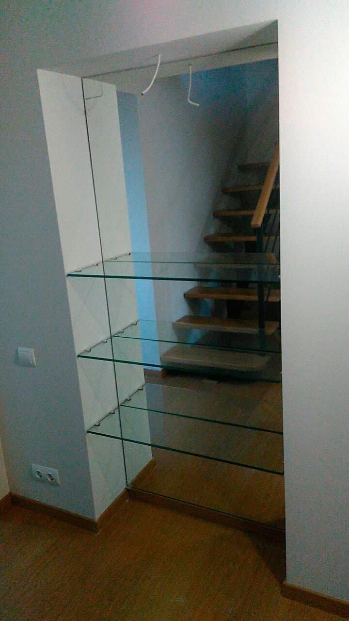 Зеркало в нишу заподлицо с плиткой, фото-13