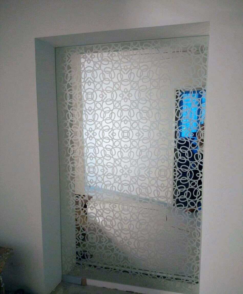 Зеркало в нишу заподлицо с плиткой, фото-5