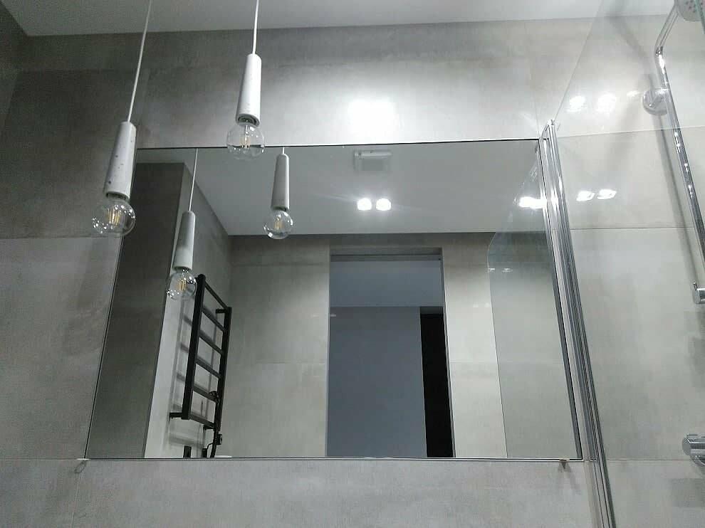 Зеркало в нишу заподлицо с плиткой, фото-4