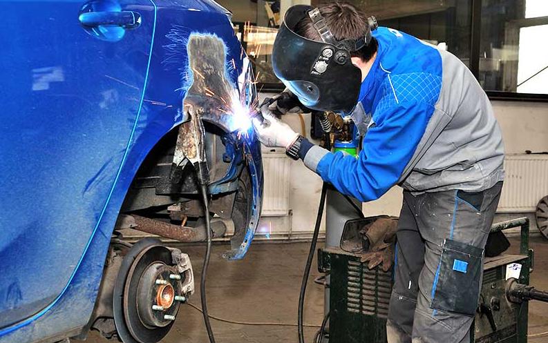 Кузовные и покрасочные работы, полировка кузова и ремонт пластика, кузовной ремонт в Киеве любой сложности, фото-16