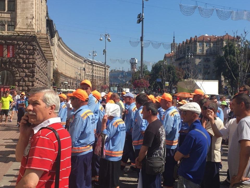 Возле КГГА митингуют парковщики (ФОТО), фото-2