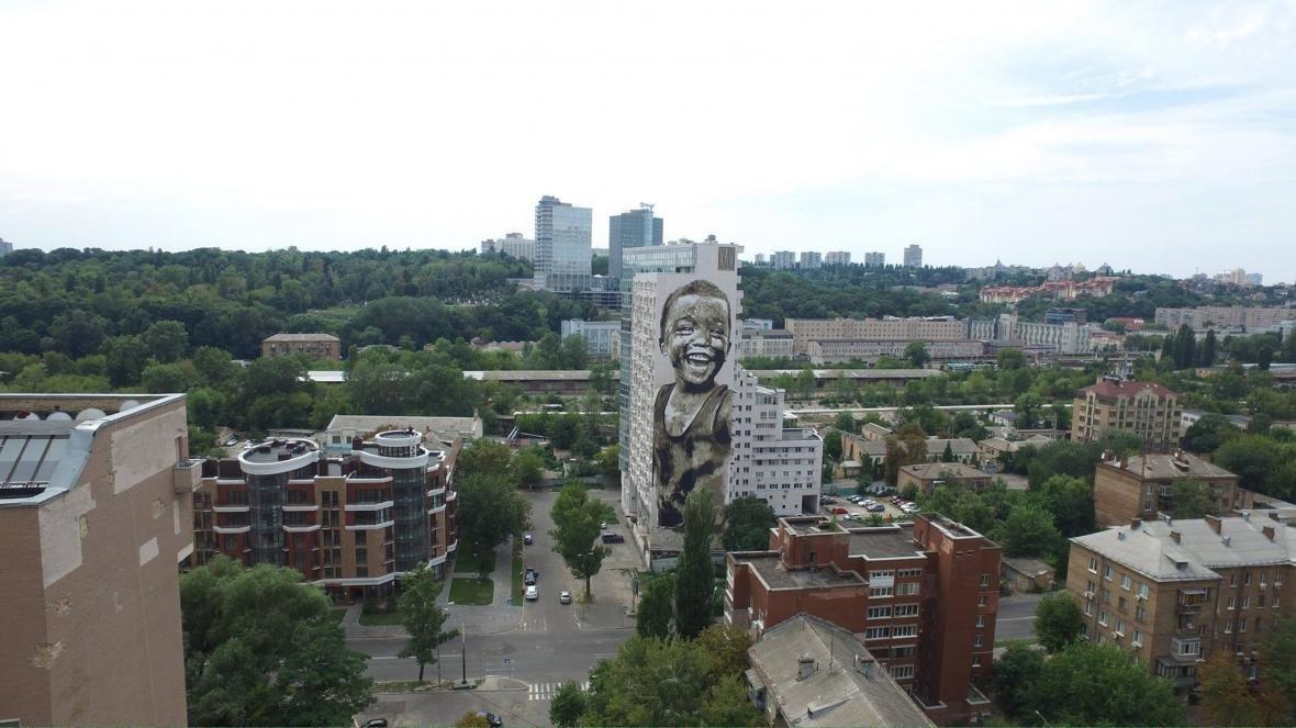 В Киеве появился новый мурал (ФОТО), фото-2