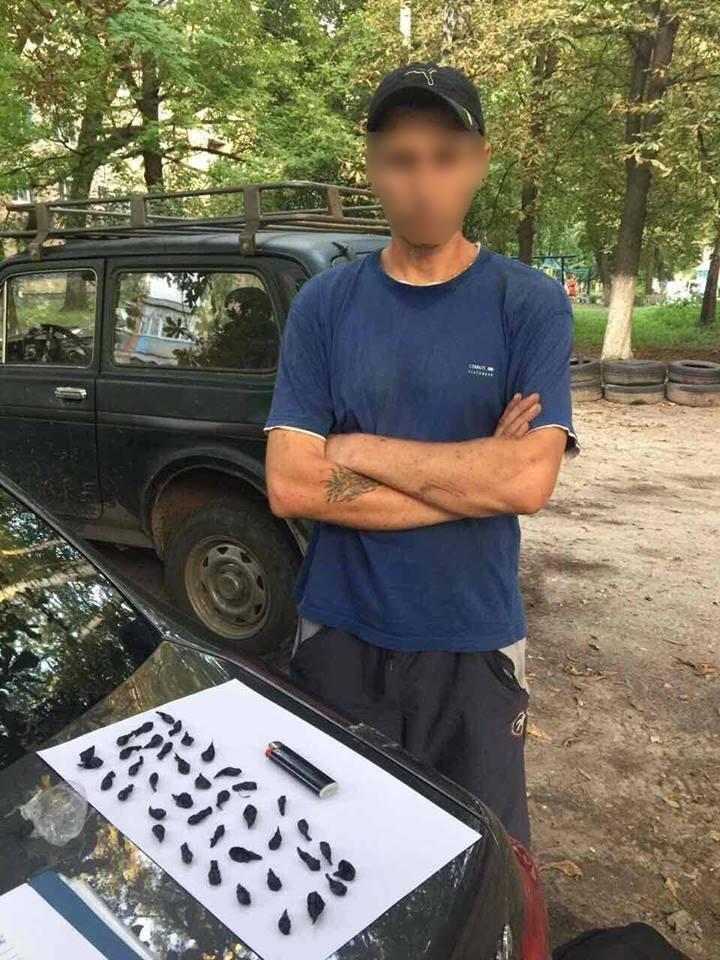 Под Киевом на территории школы задержали торговца метадоном (ФОТО), фото-2