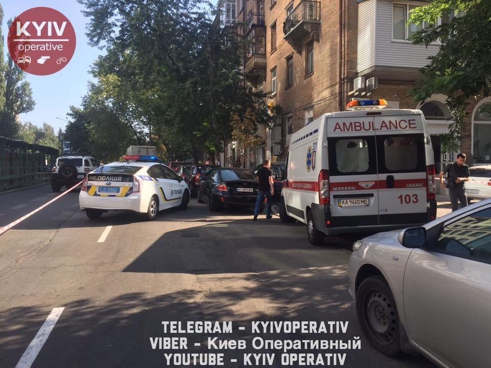Дикий Запад: грабители подстрелили киевлянина, фото-1