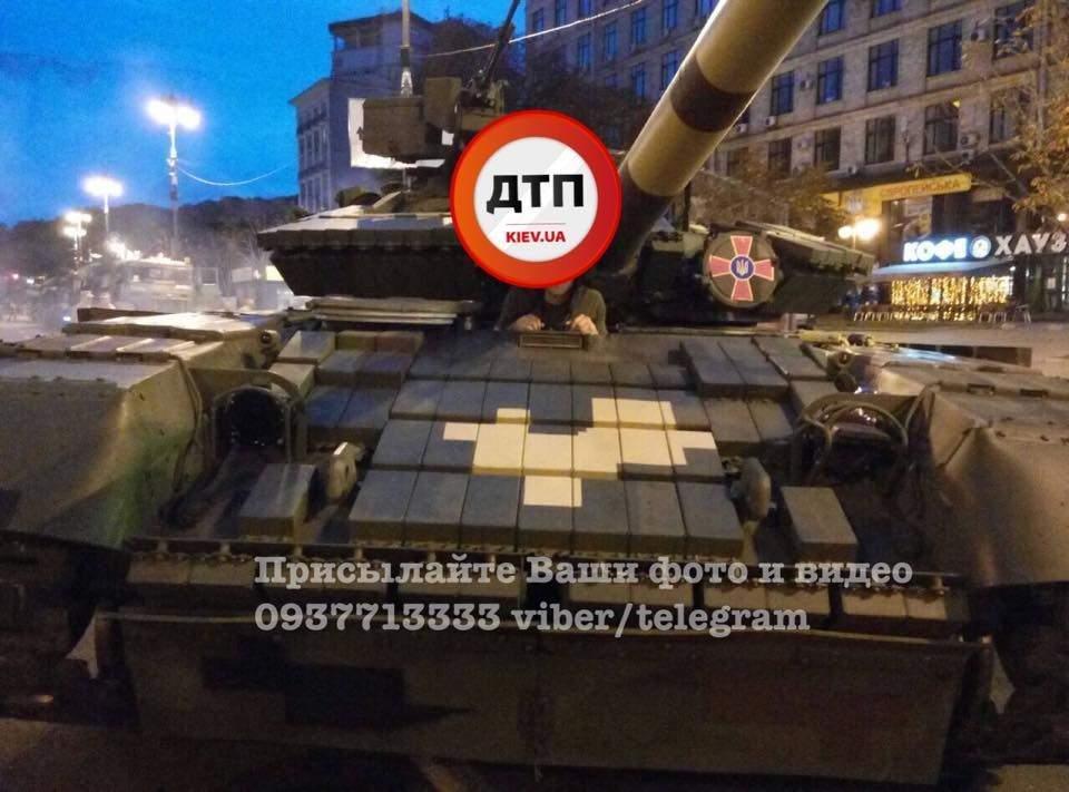 На Крещатик свозят военную технику (ФОТО), фото-3