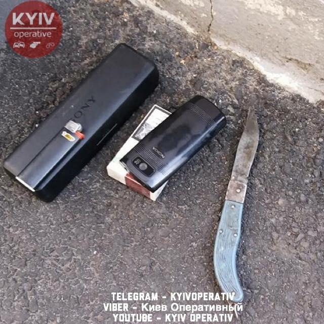Киевлянин с ножом и магнитолой ворвался в МРТ-центр, фото-1