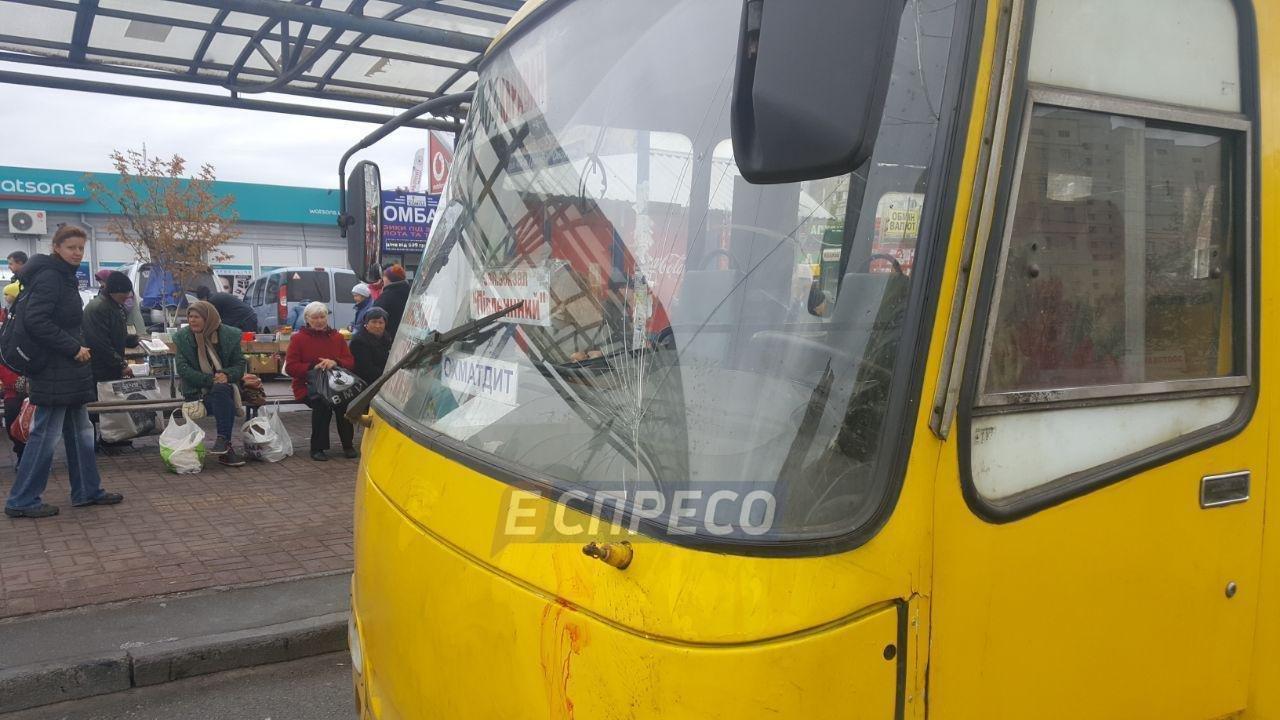 В Киеве маршрутка въехала в толпу людей: двое погибших (ФОТО), фото-2