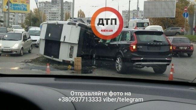 В Киеве произошло ДТП, 5 пострадавших (ФОТО), фото-2