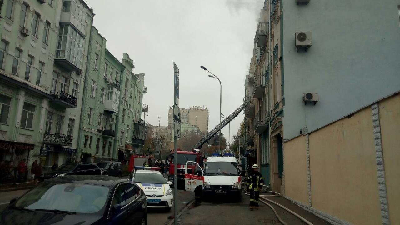 В Киеве из-за пожара перекрыли движение, фото-2