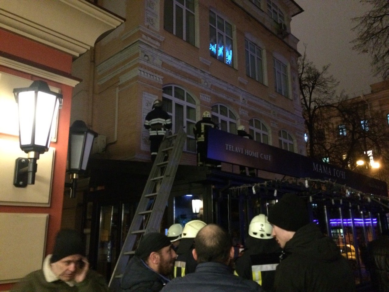 В центре Киева горело кафе (ФОТО), фото-2
