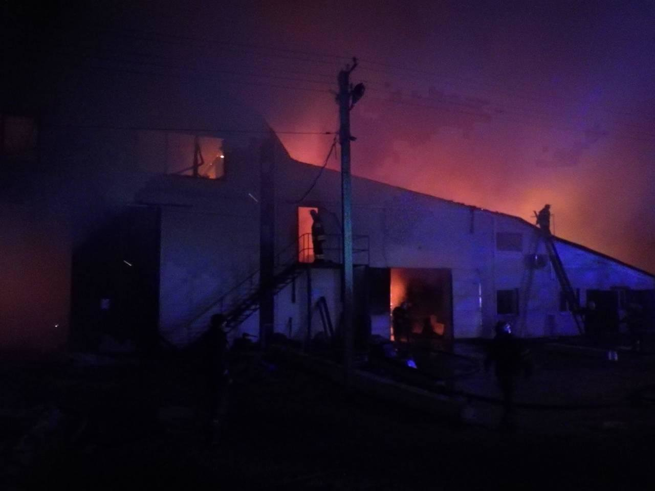 На Киевщине сгорел цех по производству биотоплива (ФОТО), фото-4