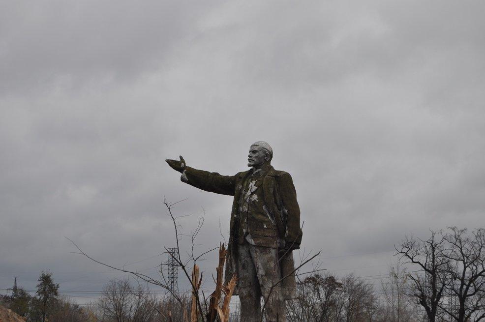 Остаться в живых: в Киеве обнаружили уцелевший памятник Ленину, фото-5