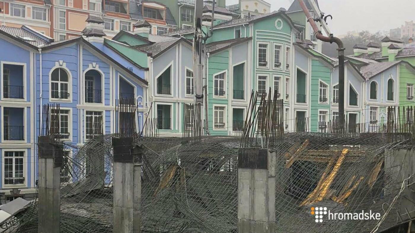 На Воздвиженке обрушилось перекрытие недостроя (ФОТО), фото-2