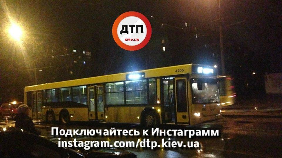 В Киеве автобус сбил пешехода (ФОТО), фото-1