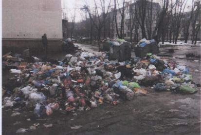 На радость крысам: возле жилого дома в Киеве образовалась огромная гора мусора (ФОТО), фото-1