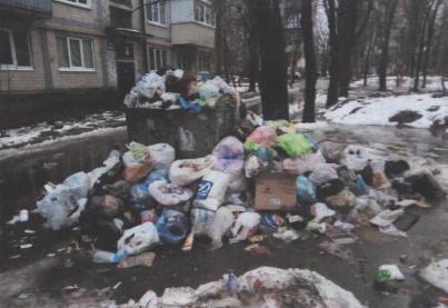 На радость крысам: возле жилого дома в Киеве образовалась огромная гора мусора (ФОТО), фото-2
