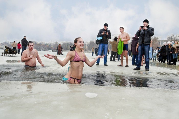 Крещение в Киеве: в каких прорубях можно искупаться, фото-7