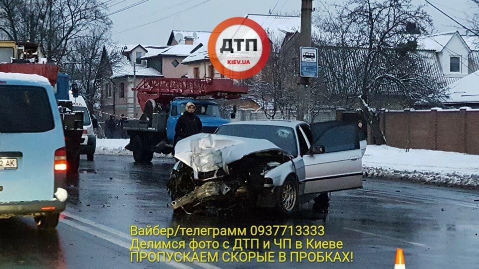 В Киеве возле университета едва не погибли четыре подростка (ФОТО), фото-1