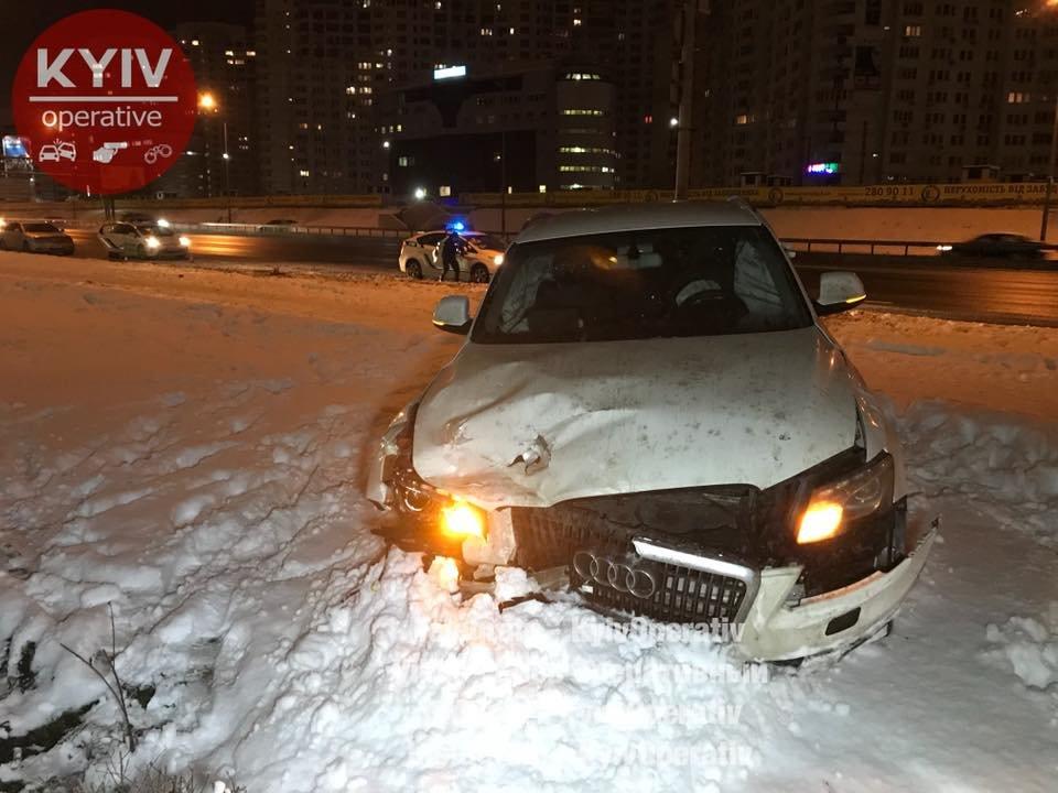 В Киеве Audi догнал Daewoo: водитель в тяжелом состоянии (ФОТО), фото-7