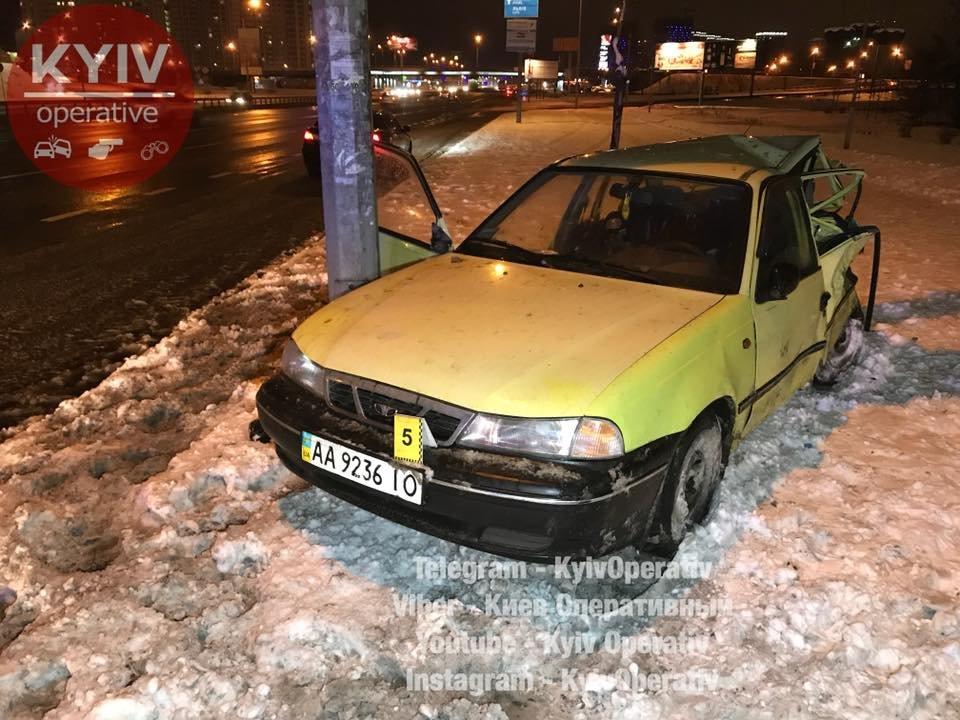 В Киеве Audi догнал Daewoo: водитель в тяжелом состоянии (ФОТО), фото-5