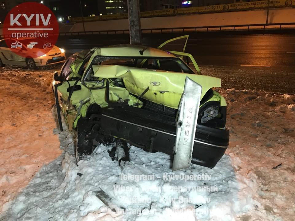 В Киеве Audi догнал Daewoo: водитель в тяжелом состоянии (ФОТО), фото-3