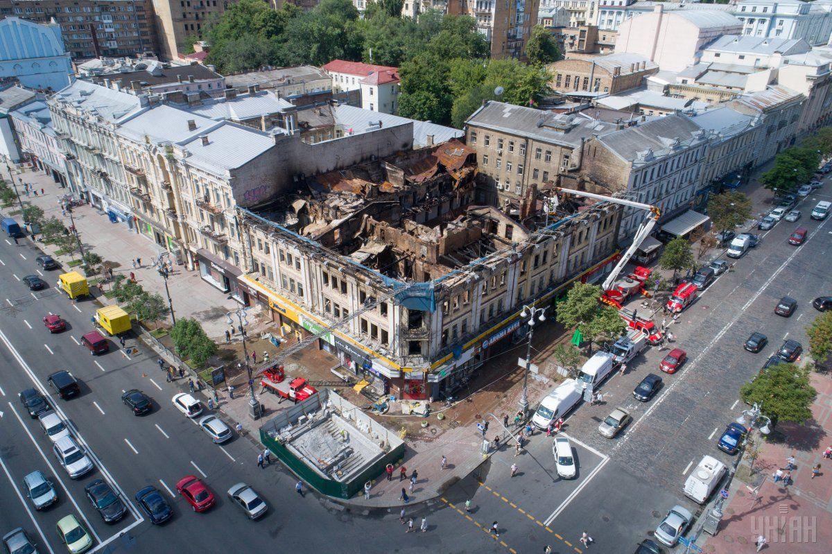 Наследие в огне: в Киеве горят исторические здания, фото-9