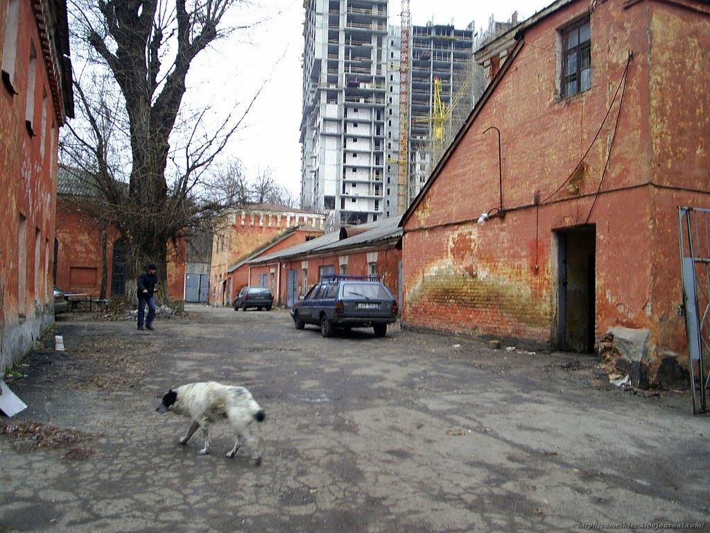 Наследие в огне: в Киеве горят исторические здания, фото-4