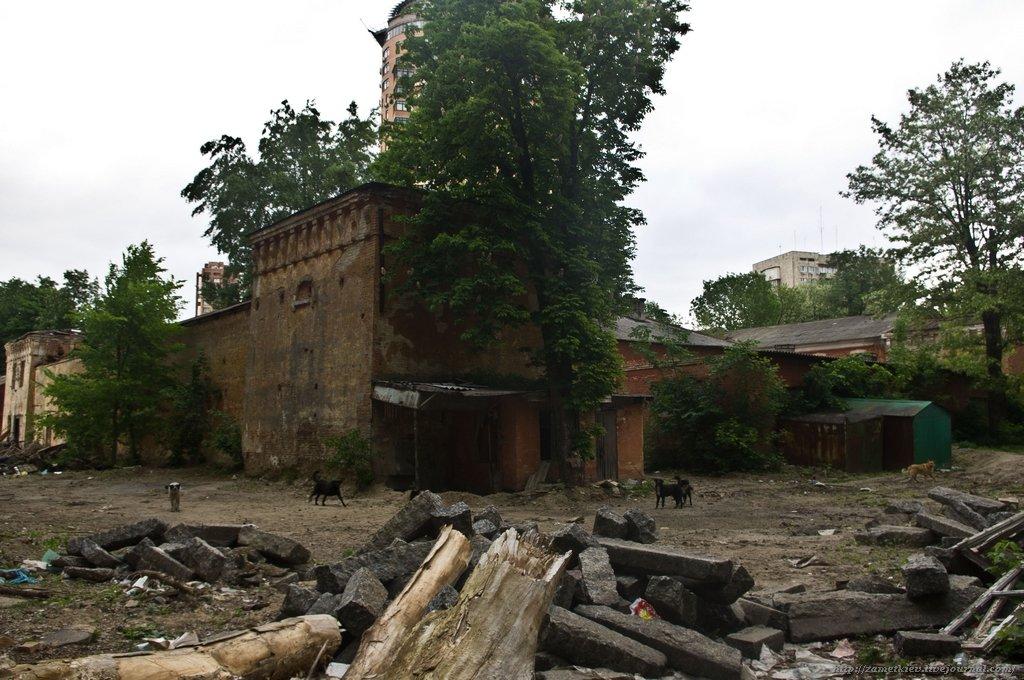 Наследие в огне: в Киеве горят исторические здания, фото-2