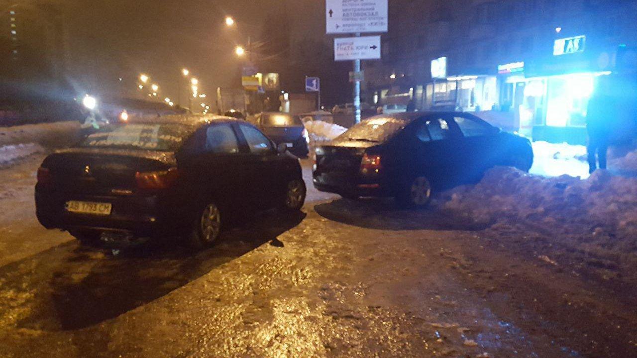 Масштабное ДТП в Киеве: разбилось сразу семь авто, фото-3