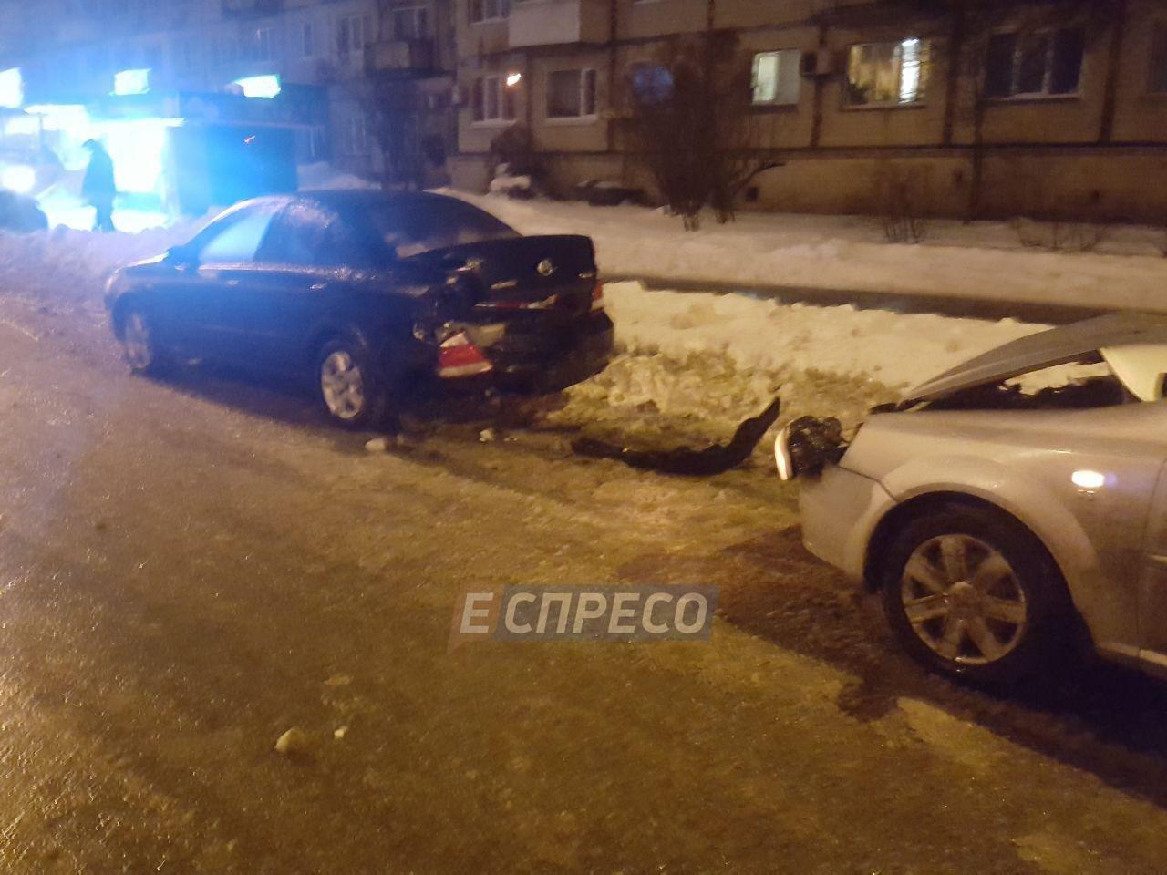 Масштабное ДТП в Киеве: разбилось сразу семь авто, фото-1