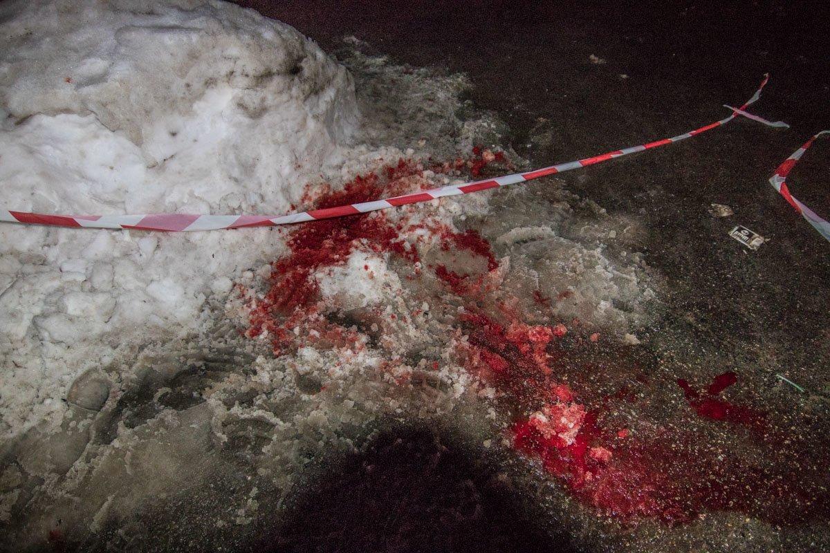 В Киеве на улице зарезали мужчину (ФОТО), фото-4
