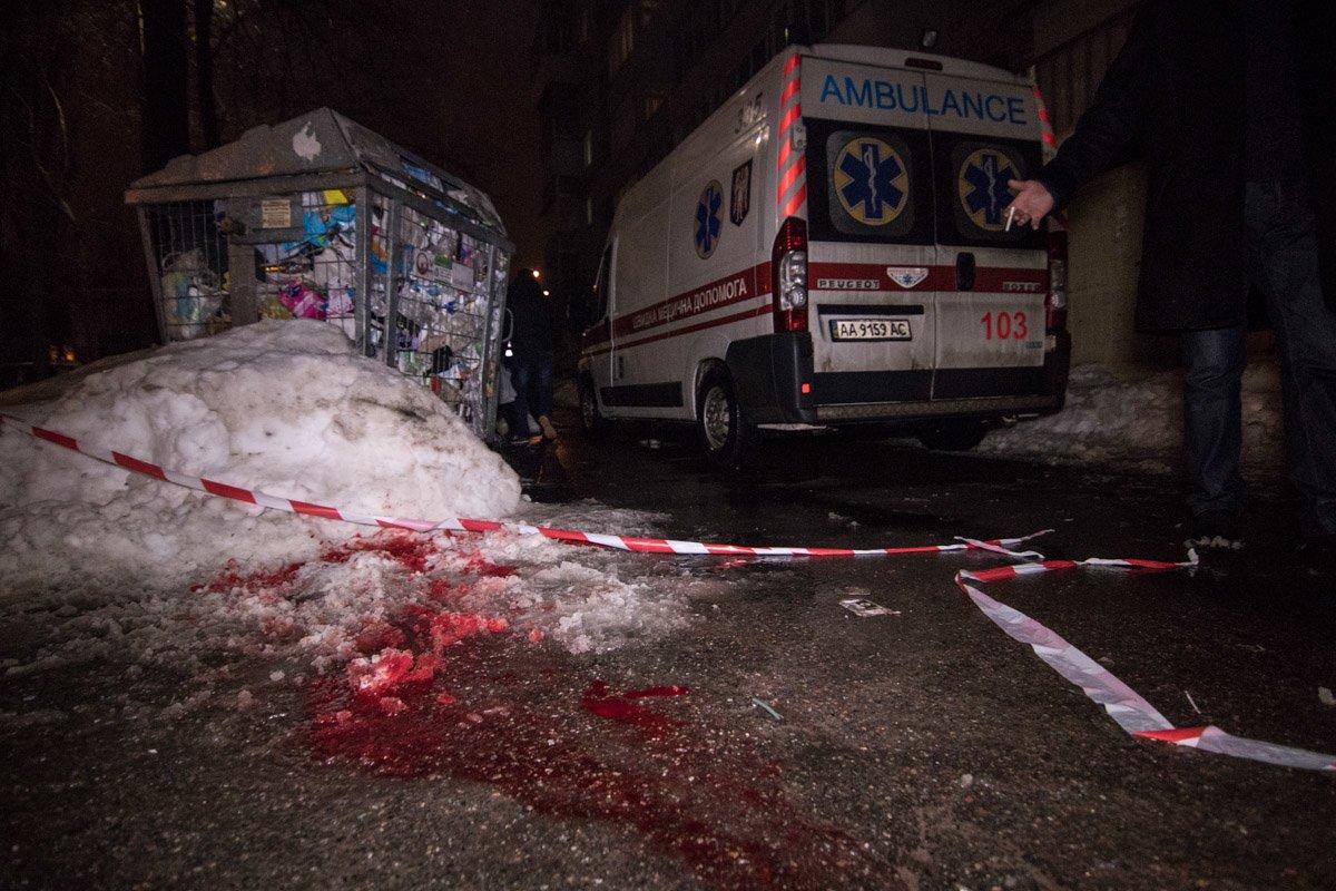 В Киеве на улице зарезали мужчину (ФОТО), фото-3