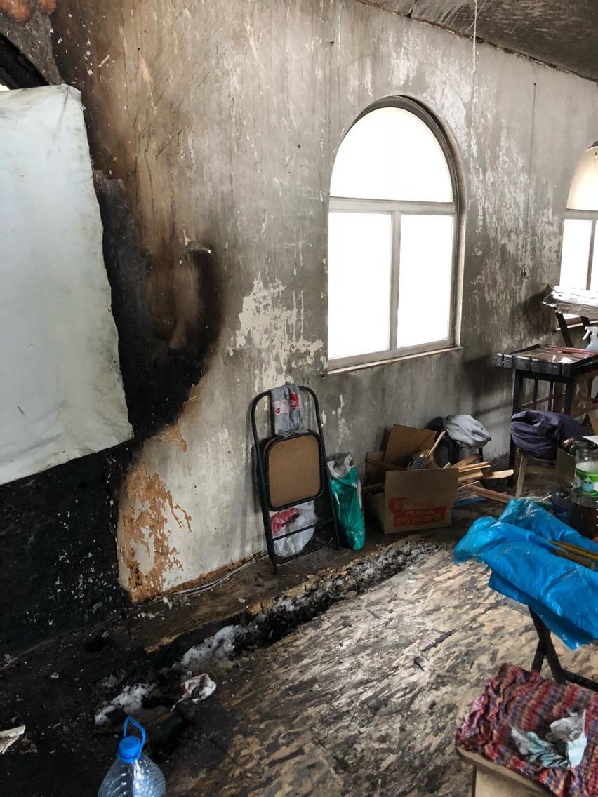 В УПЦ МП заявили о поджоге храма в Киеве (ФОТО), фото-3
