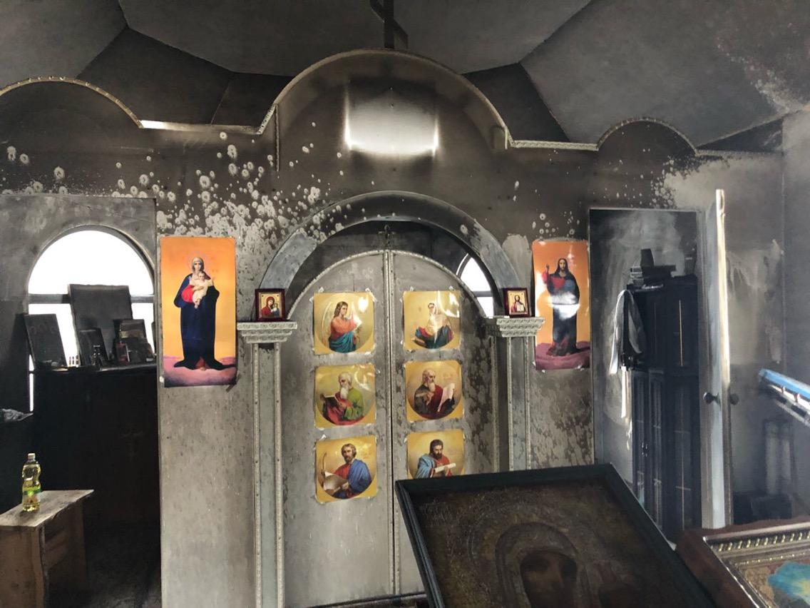 В УПЦ МП заявили о поджоге храма в Киеве (ФОТО), фото-2