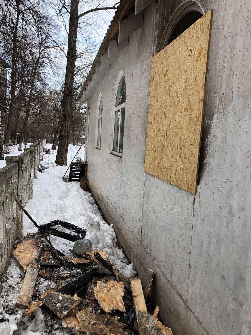 В УПЦ МП заявили о поджоге храма в Киеве (ФОТО), фото-4