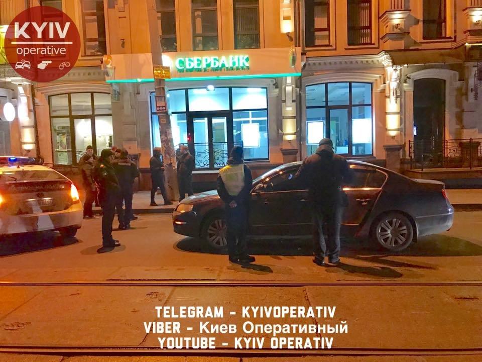На Подоле водитель авто с дипномерами РФ устроил ДТП (ФОТО), фото-4