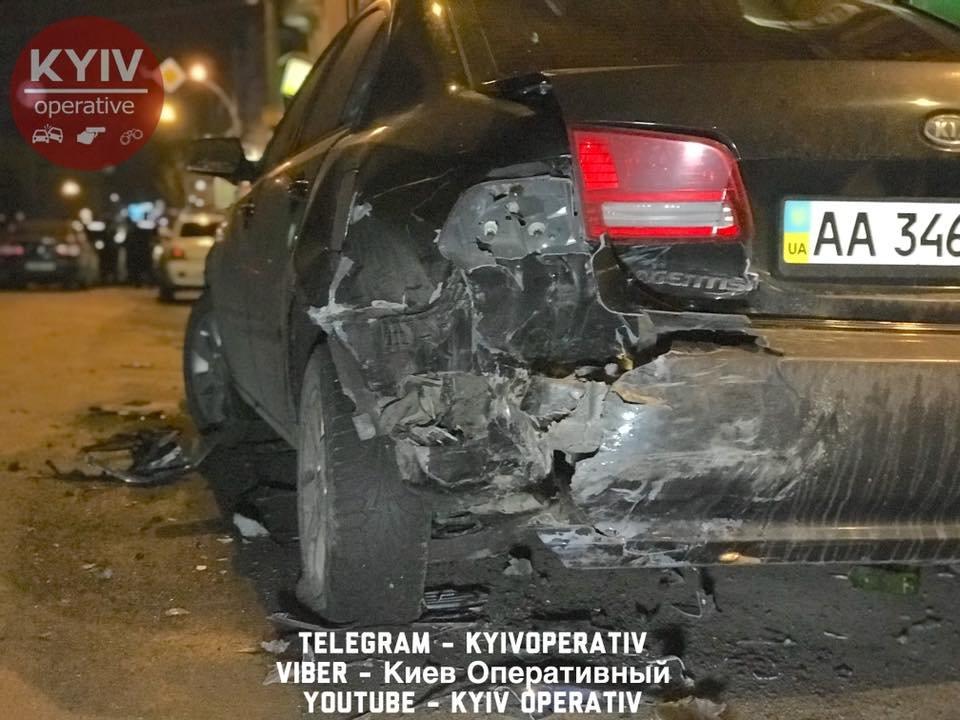 На Подоле водитель авто с дипномерами РФ устроил ДТП (ФОТО), фото-3